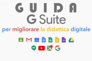 Guida per l'utilizzo dell'account Google fornito dalla scuola